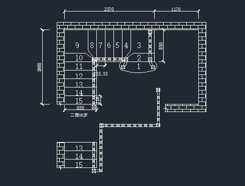 楼梯的基本结构-鸿基楼梯