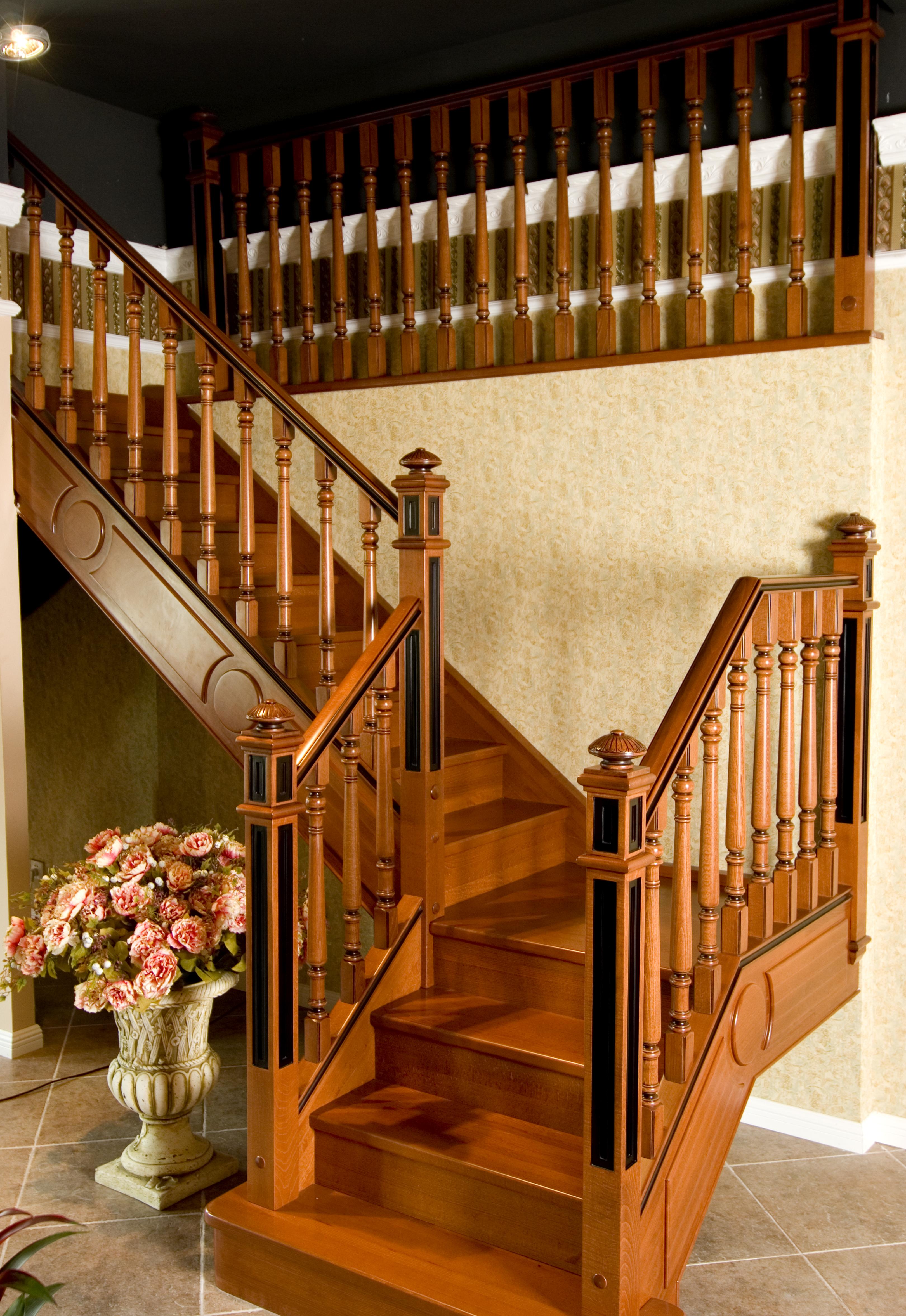 楼梯的基本结构